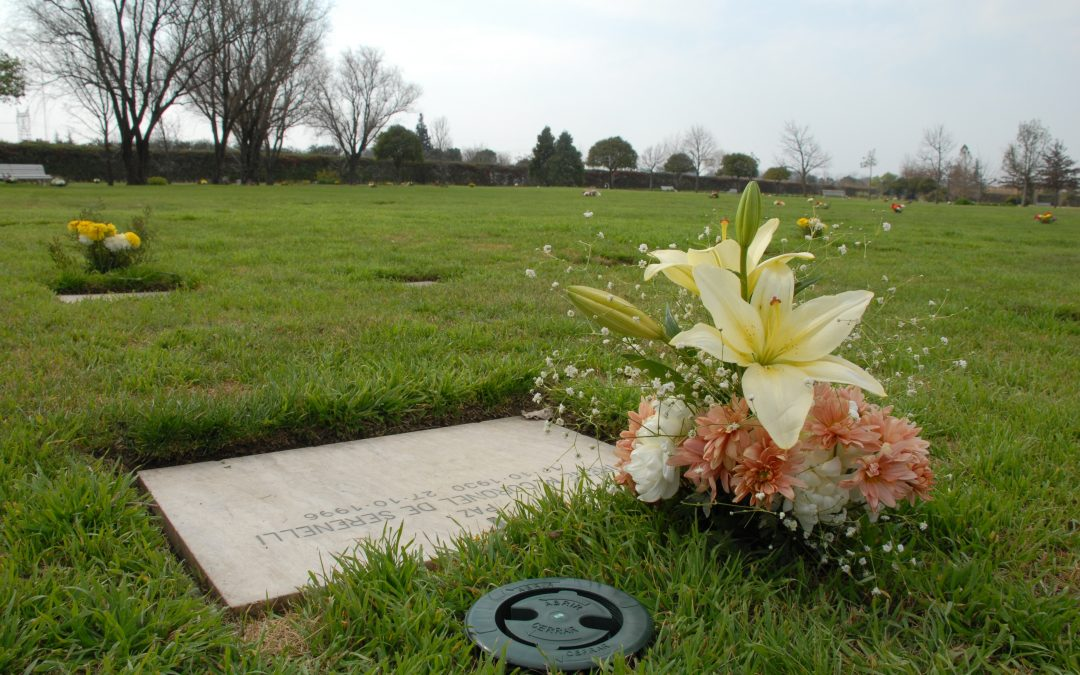 Florero cementerio parque
